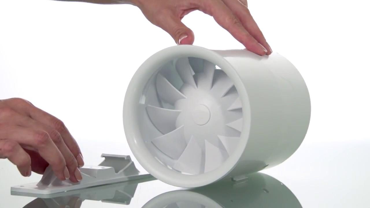Estrattori aria silenziosi quietline della vents blauberg youtube - Aspiratore da cucina ...