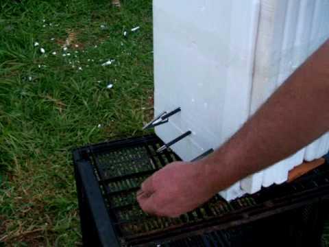 Archery Broadhead Target Foam Box Lids Youtube