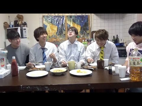 【はじめしゃちょー】出張仲間家食堂〜焼き鮭とふわトロオムレツ〜ごきげんな朝食