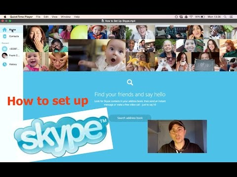 How to Set Up Skype