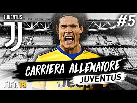 EDINSON CAVANI!!! CARRIERA ALLENATORE JUVENTUS #5 | FIFA 18
