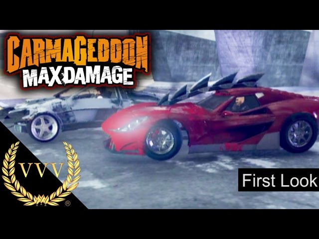 Carmageddon Max Damage, First Look PS4 Gameplay