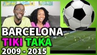 Barcelona Tiki Taka 2009-2015 REACTION || SPORTS REACTIONS