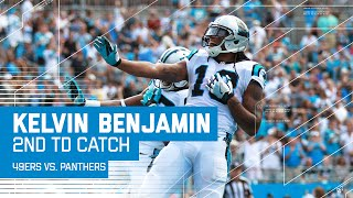 Ted Ginn Jr.'s 52-Yard Grab & Kelvin Benjamin's 2nd TD of the Day!   49ers vs. Panthers   NFL