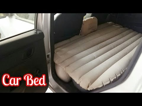Unboxing and review of car bed