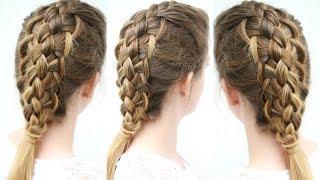 5 Strand Loop Braid | Braided Hairstyles | Braidsandstyles12