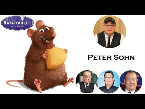 """""""RATATOUILLE""""- Voice Behind the Characters"""