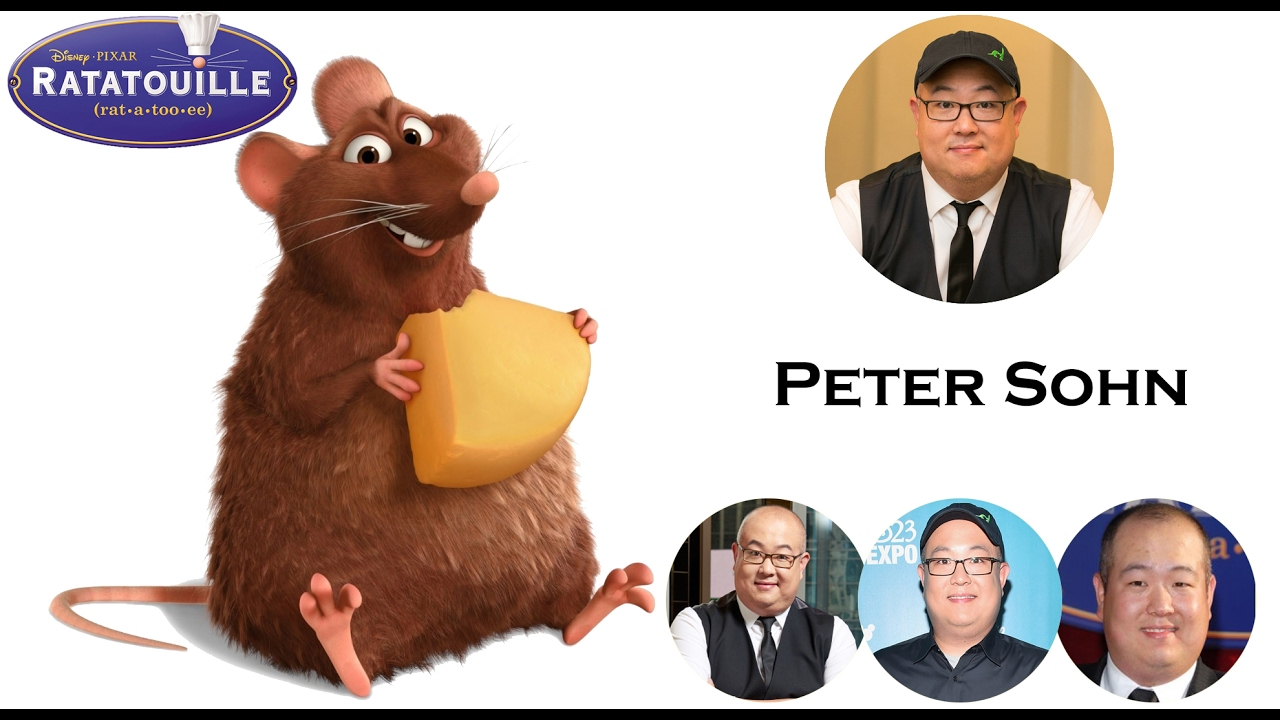 Ratatouille Voice Behind The Characters Youtube