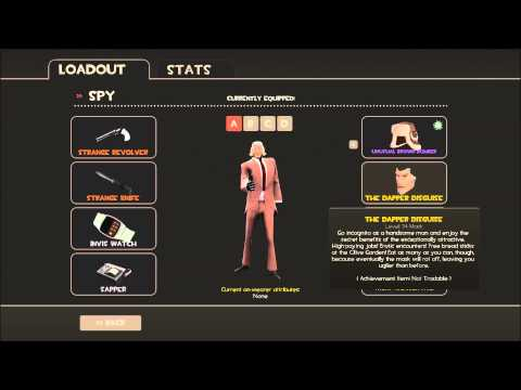 TF2 Celebrity Poker Night 1 + 2 All Items Shown Team Fortress 2