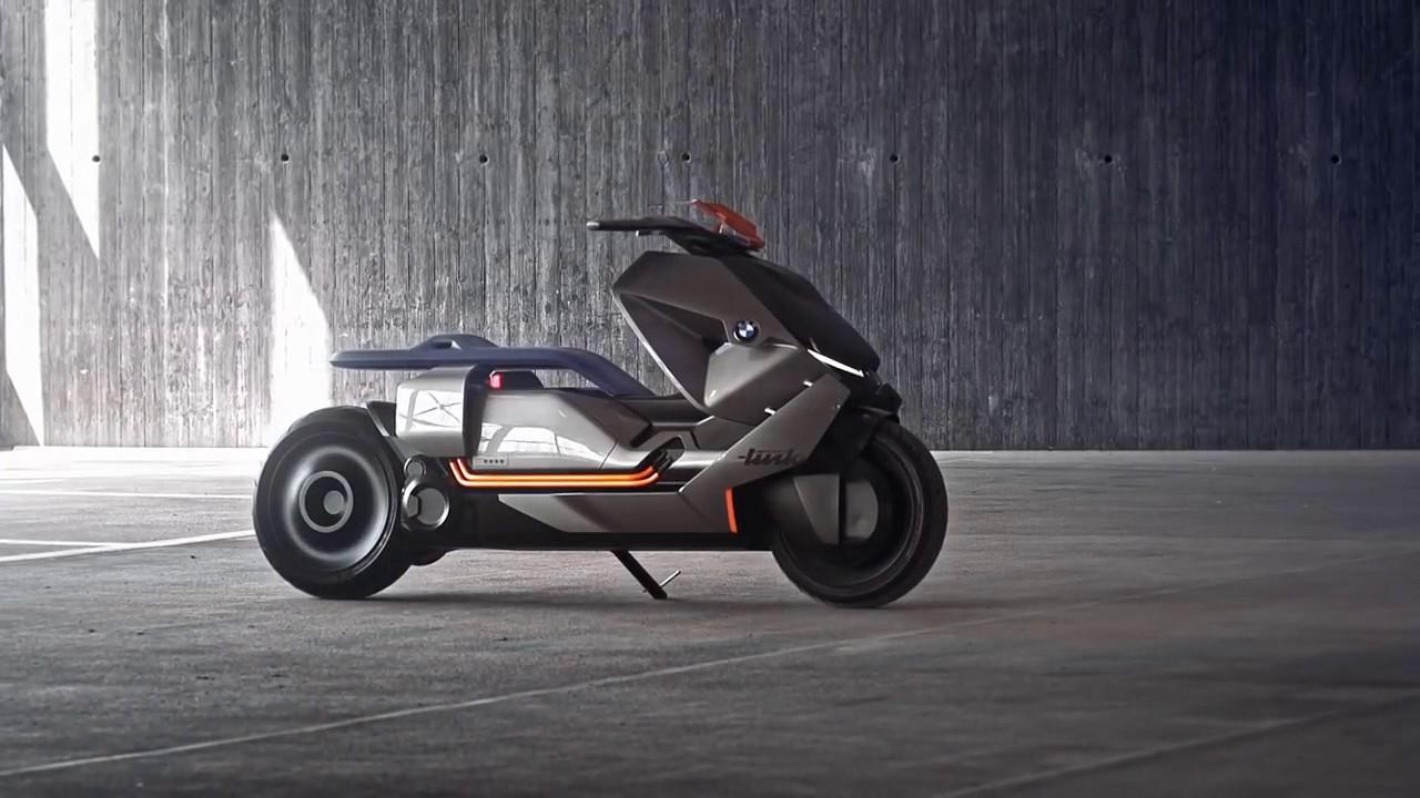 Bmw C Evolution 2018 Next James Bond Electric Scooter Concept Link