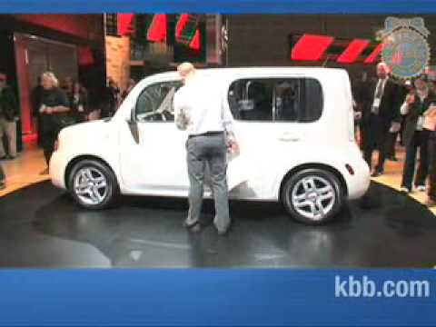 2010 Nissan Cube Auto Show Video Kelley Blue Book Youtube
