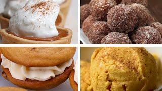 7 Desserts For Pumpkin Lovers