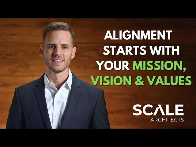 Alignment always starts with your Mission, Vision & Values