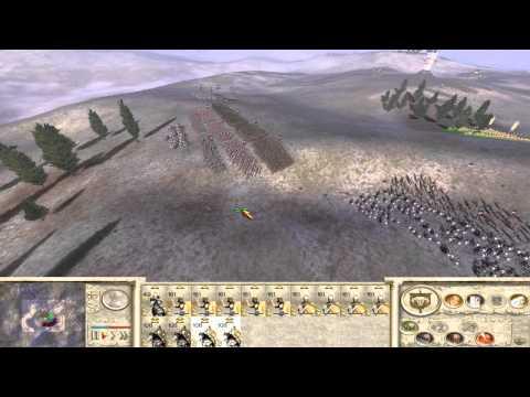 Rome: Total War 1v1 LAN vs Dante6797