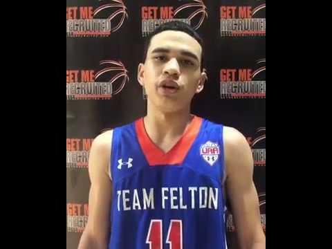 Alik Lewis (Team Felton/Eastern Alamance HS/Burlington, NC) 2023 5'11 PG