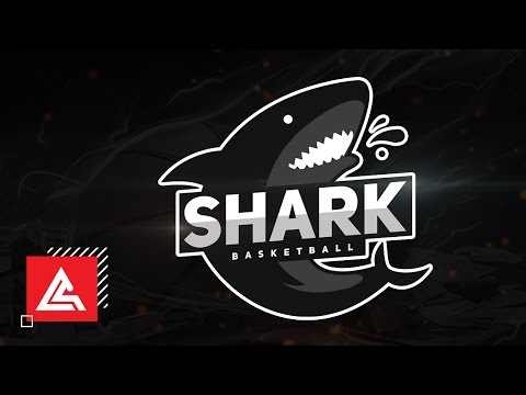 "Create ""SHARKS"" basketball logo design 