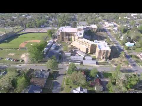 Historic Little Rock Central High - Dji Phantom 3 Advance