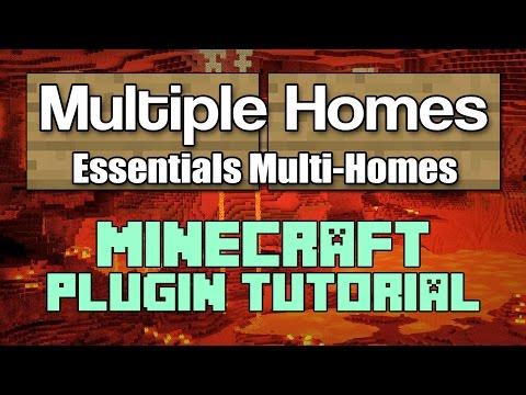 Multiple Homes Tutorial - Essentials Plugin Minecraft