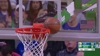 Warriors Broadcasters Troll Lonzo Ball's Shot After Klay Thompson Wedgie Shot