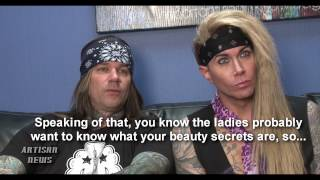 STEEL PANTHER EXCLUSIVE INTERVIEW - SOLO ALBUM, TV SHOW, DAVID LEE ROTH AND NICKI MINAJ