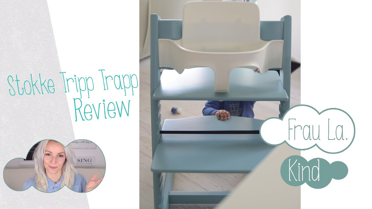 stokke tripp trapp review unser hochstuhl outtakes frau la youtube. Black Bedroom Furniture Sets. Home Design Ideas