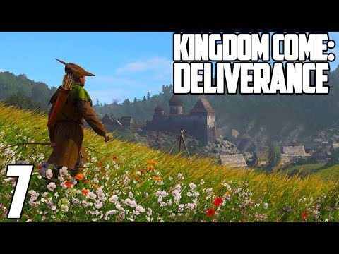 MY NEW DRUNK BOYFRIEND | Kingdom Come: Deliverance Gameplay Let's Play #7