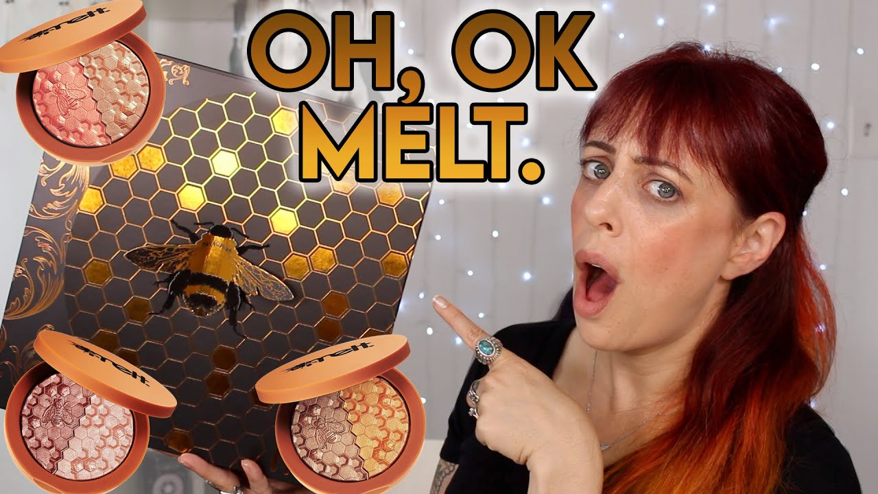 MELT DID THE DANG THING 🐝 Melt Cosmetics Digital Dust Blush Duos, Try-ons of all 3 | GlitterFallout