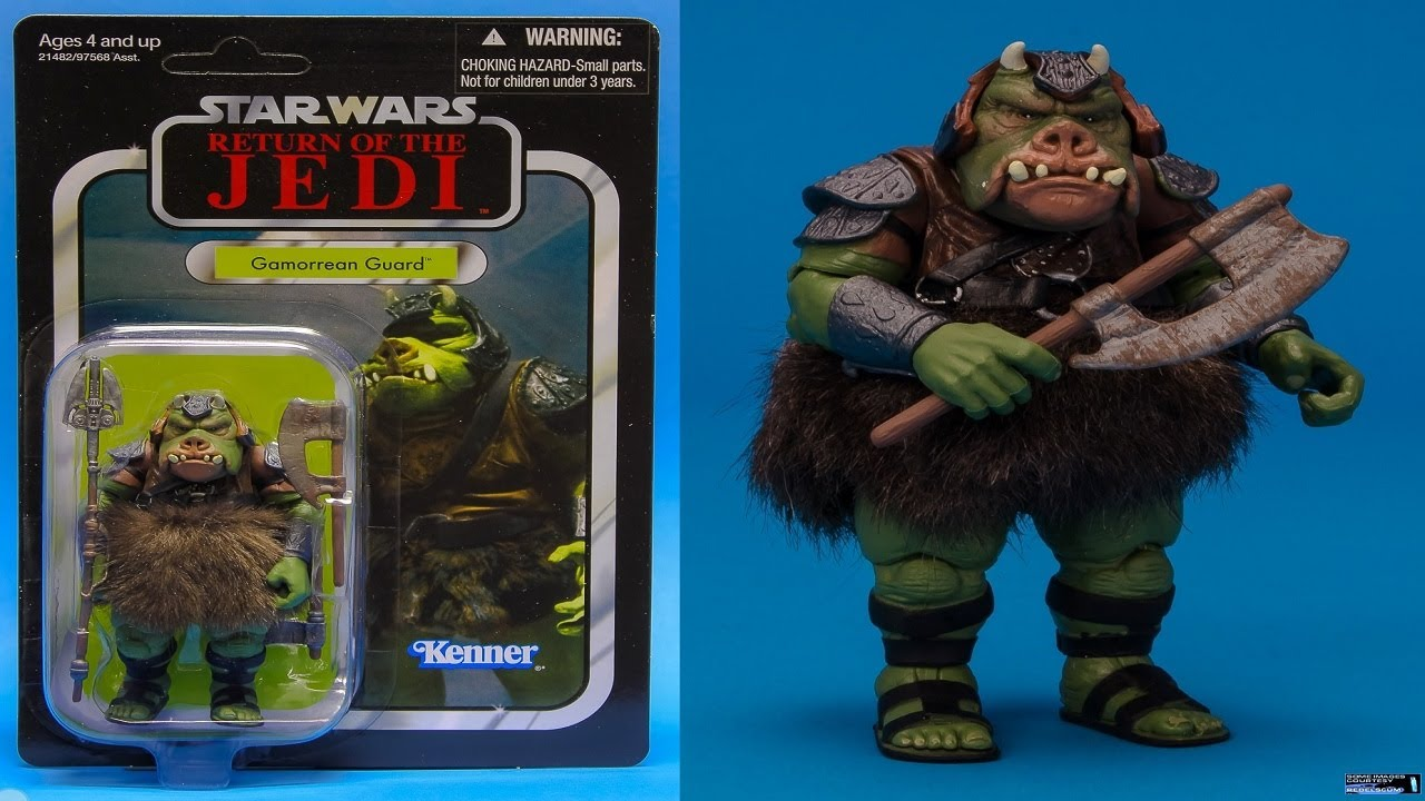 Star wars figure review gamorrean guard the vintage collection vc21 youtube - Star wars gamorrean guard ...
