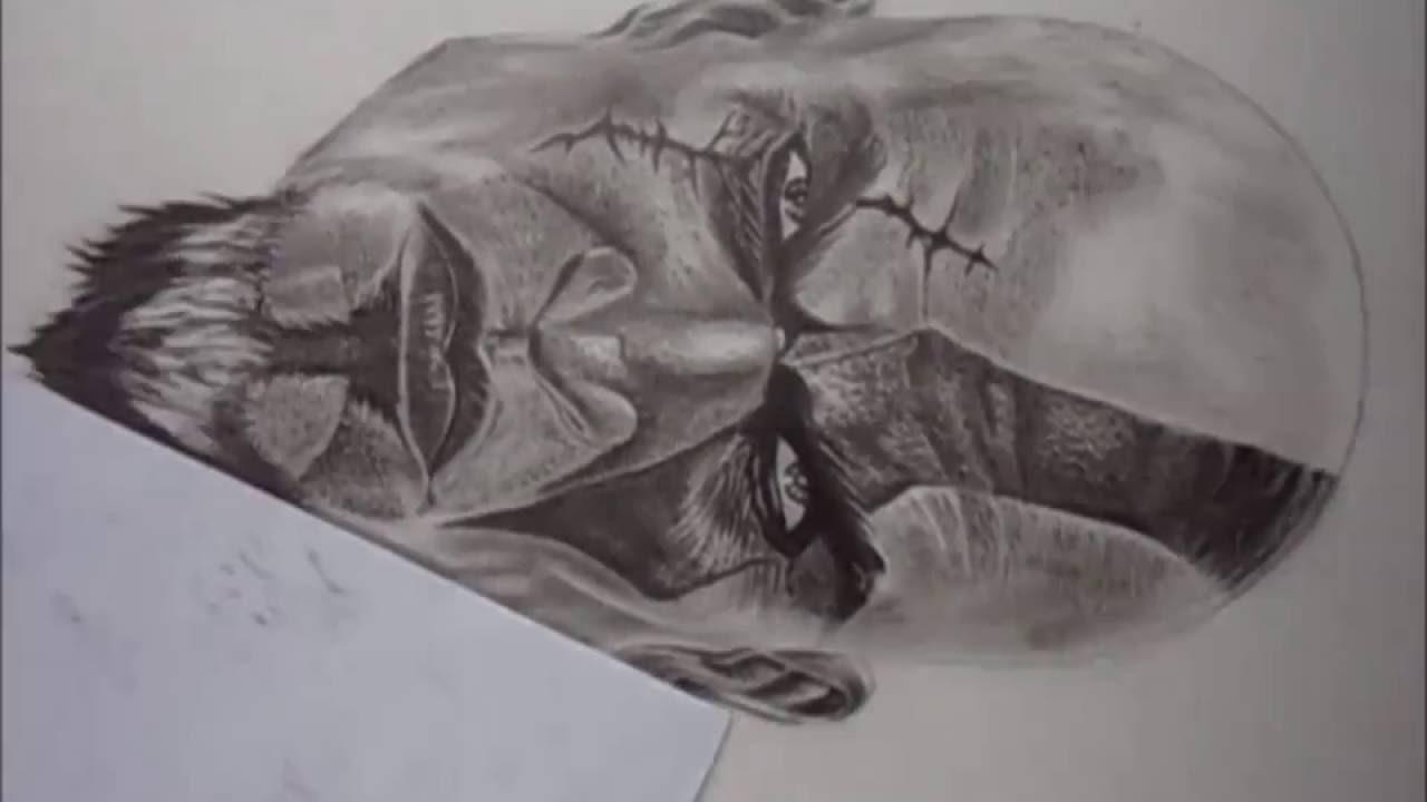 Desenho Realista,desenhando O Kratos