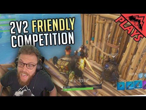 2v2 FRIENDLY COMPETITION - Fortnite Gameplay #67 (StoneMountain64 & MugsTV)