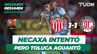 Resumen Y Goles Necaxa 1 - 1 Toluca | Liga Mx Apertura 2019  Jornada 7 | TUDN