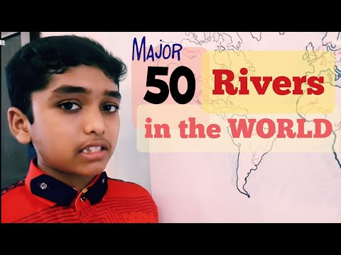 Major Rivers In The World For All Competitive Exams