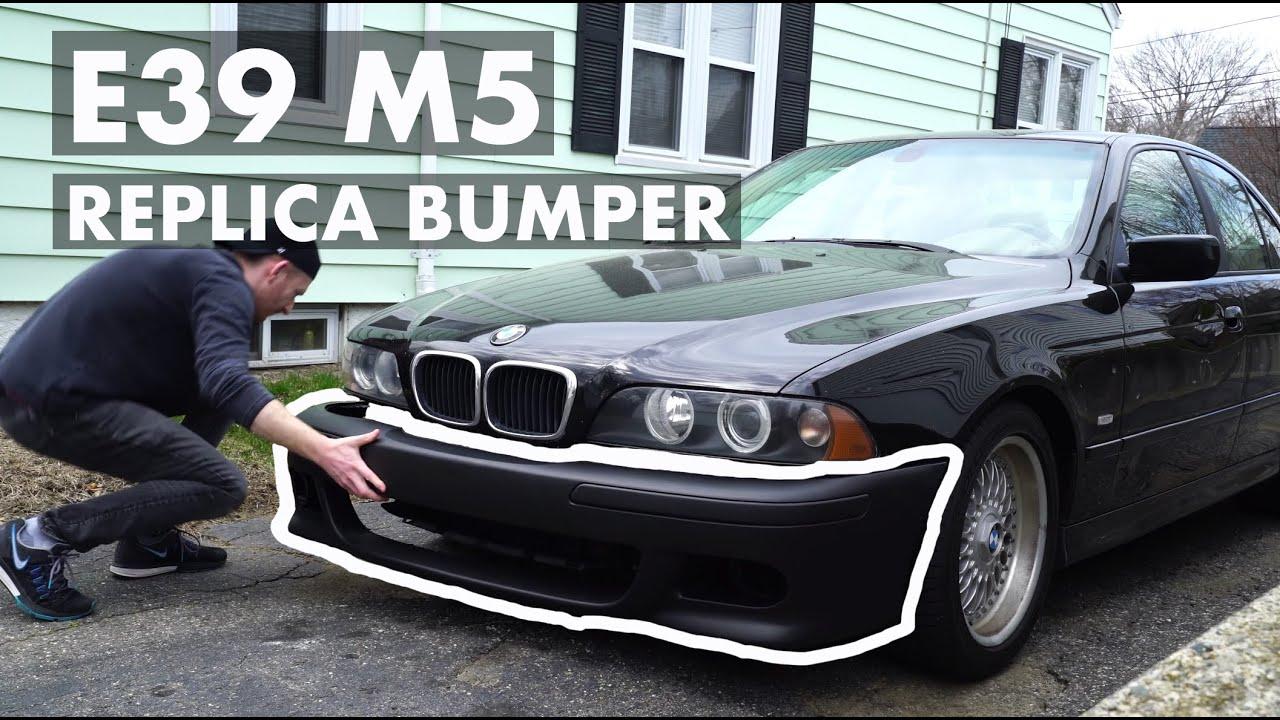 E39 M5 Replica Bumper Test Fit BMW ECS Umnitza DDM