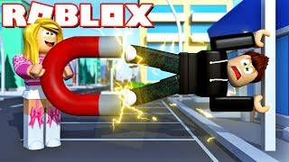 This SUPER MAGNET has an attraction of 10,000 ✿ Roblox magnetic SIMULATOR [German/HD]
