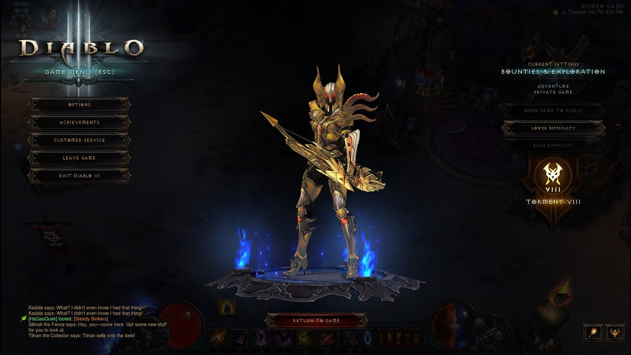 Diablo  Build    Demon Hunter
