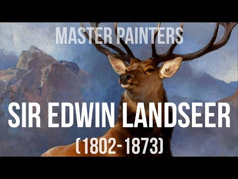 Sir Edwin Landseer (1802-1873) A collection of paintings 4K Silent Slideshow