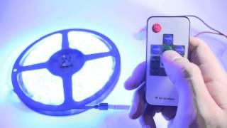 RGB контроллер 10 кнопок RF Мини(RGB контроллер для светодиодной ленты 10 кнопок. Радио с мини приемником. Прочитать подробнее или купить можн..., 2014-05-27T20:01:58.000Z)