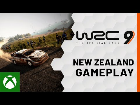 WRC 9 Gameplay - Rally New Zealand