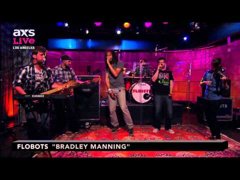 "Flobots Perform ""Bradley Manning"" on AXS Live"