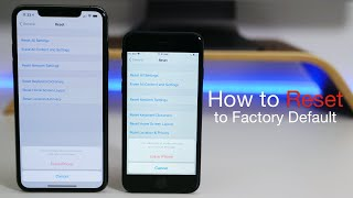 How to Properly Reset iPhone to factory default