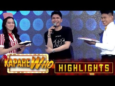 Jackque and Ion recite a poem for Madlang People   It's Showtime KapareWho