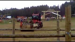 case 535 quadtrac vs pasov vozidlo bvp western šikluv mln traktor show