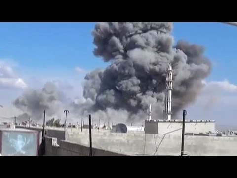 Russian war planes bomb Syria for a second day