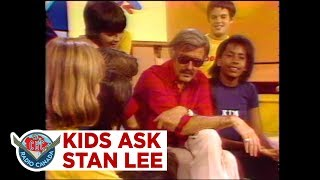 Kids ask Stan Lee about his favourite Marvel Comics characters, 1978