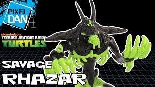 Savage Rhazar Teenage Mutant Ninja Turtles Nickelodeon Action Figure Video Review