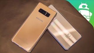 Samsung Galaxy Note 8 vs Galaxy Note Fan Edition   Quick Look