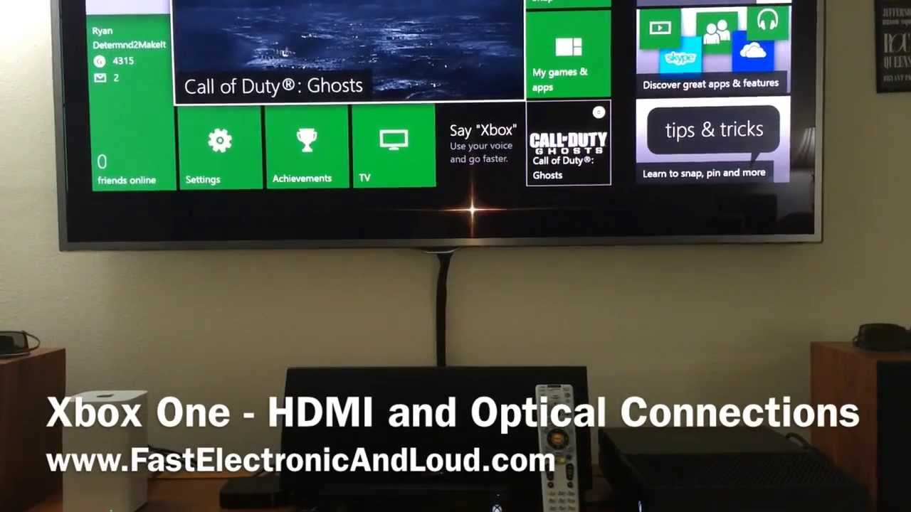 Xbox One Best Sound Amp Picture In Your Home Theater