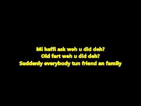 Alkaline - Weh u did deh (Lyrics)