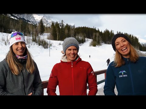 Beckie Scott, Chandra Crawford and Sara Renner   Canmore's medal-winning Olympians   Alberta, Canada