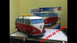 Building 3D Puzzle Volkswagen T1